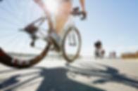 Close Up of Road Bike