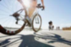 Close Up of Triathlon Bike