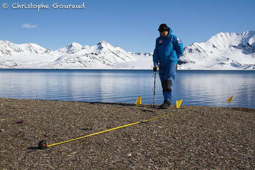 Frigga Kruse. St Jonsfjord. Photo by Gou