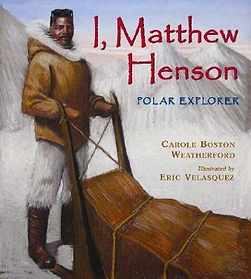 Book Cover, I, Matthew Henson.png
