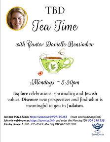 TBD Tea Time w. Cantor      09.30.2020.j