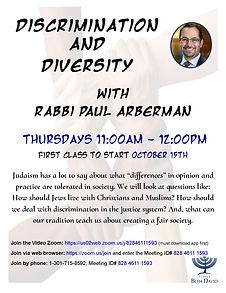 Discrimination and Diversity       09.22