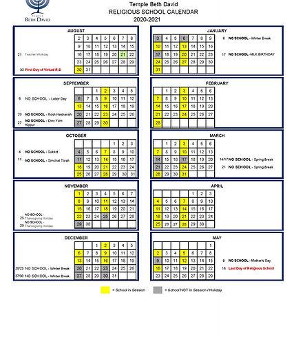 Religious School Calendar 20.21.jpg