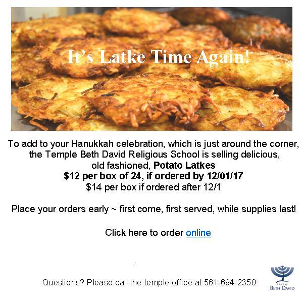latke order form with Jot link
