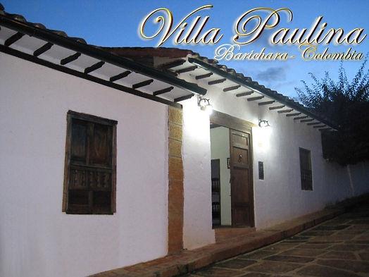 Villa Paulina Barichara