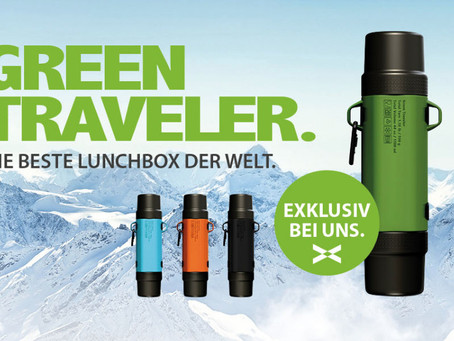GREEN TRAVELER - DIE BESTE LUNCHBOX DER WELT.