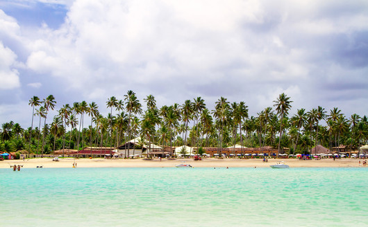 Praia do Grand Oca Maragogi
