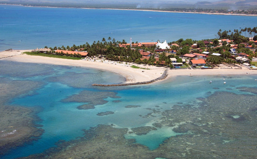 Vista Aérea Serrambi Resort e Praia