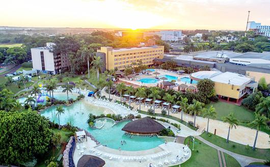 Vista Aérea do Piscina do Mabu Thermas Grand Resort