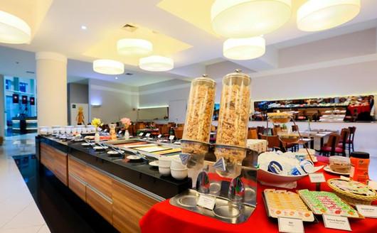 Restaurante do Quality Resort Itupeva