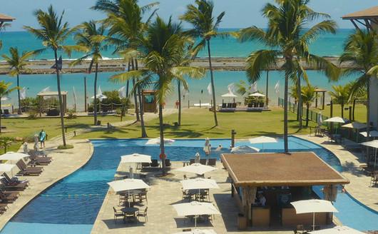 Piscinas do Samoa Beach Resort