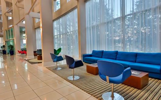 Lobby do Quality Resort Itupeva