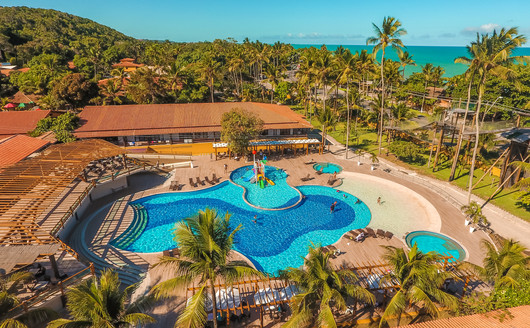 Vista aérea do Porto Seguro Praia Resort