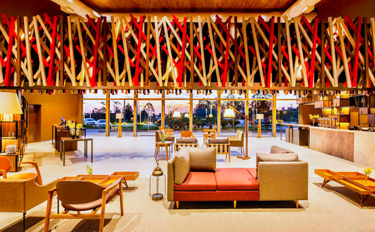 Lobby do Novotel Itu Golf & Resort