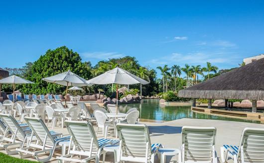 Piscina do Mabu Thermas Grand Resort