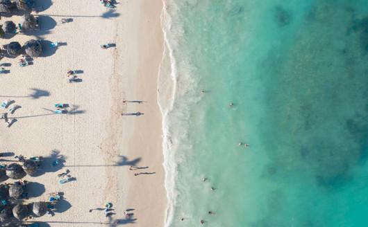 Vista Aérea do Clube de Praia