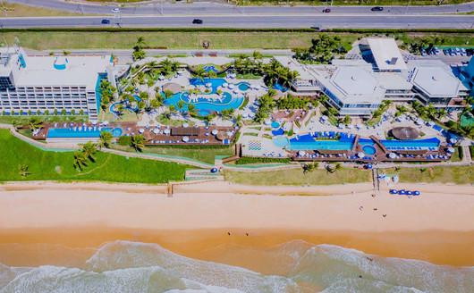 Vista Aérea do Ocean Palace Resort