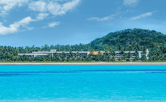 Jarapatinga Lounge Visto do Mar