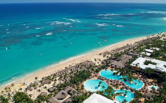 Vista aérea praia