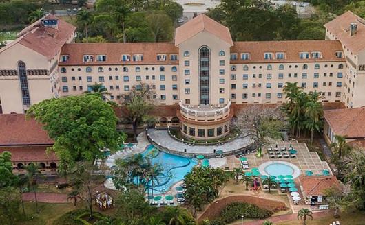 Vista aérea Tauá Grande Hotel Termas de Araxá