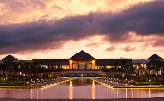 Vista Externa do Resort