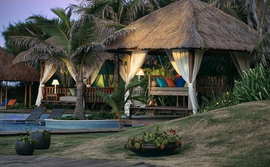 Áreas de Descanso no  Zorah Beach Hotel