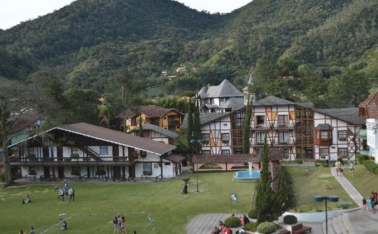 Vista Externa di Hotel Village Le Canton