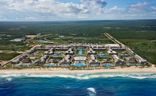 Vista Aérea do Hard Rock Hotel Punta Cana