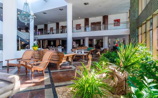 Lobby do Ritz Lagoa da Anta