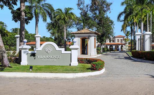 Entrada do Vila Angatu Eco Resort