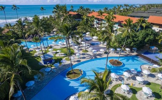 Vista aérea do Marulhos Resort