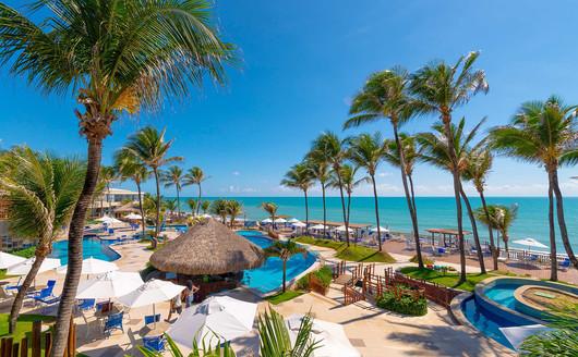 Vista Aérea do Ocean Palace Beach Resort