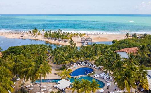 Vista Aérea do Pratagy Beach Resort