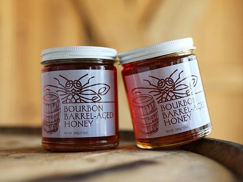 Bourban barrel-aged honey