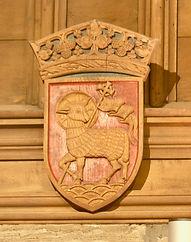 55 Wall head panel.  Lamb of st. JOhn..j