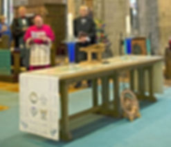 26 The Communion Table with its embroide