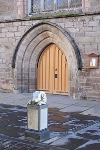 016  The great West Door of St. John's.