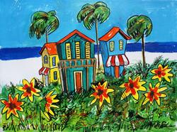 Sunny Flower Beach