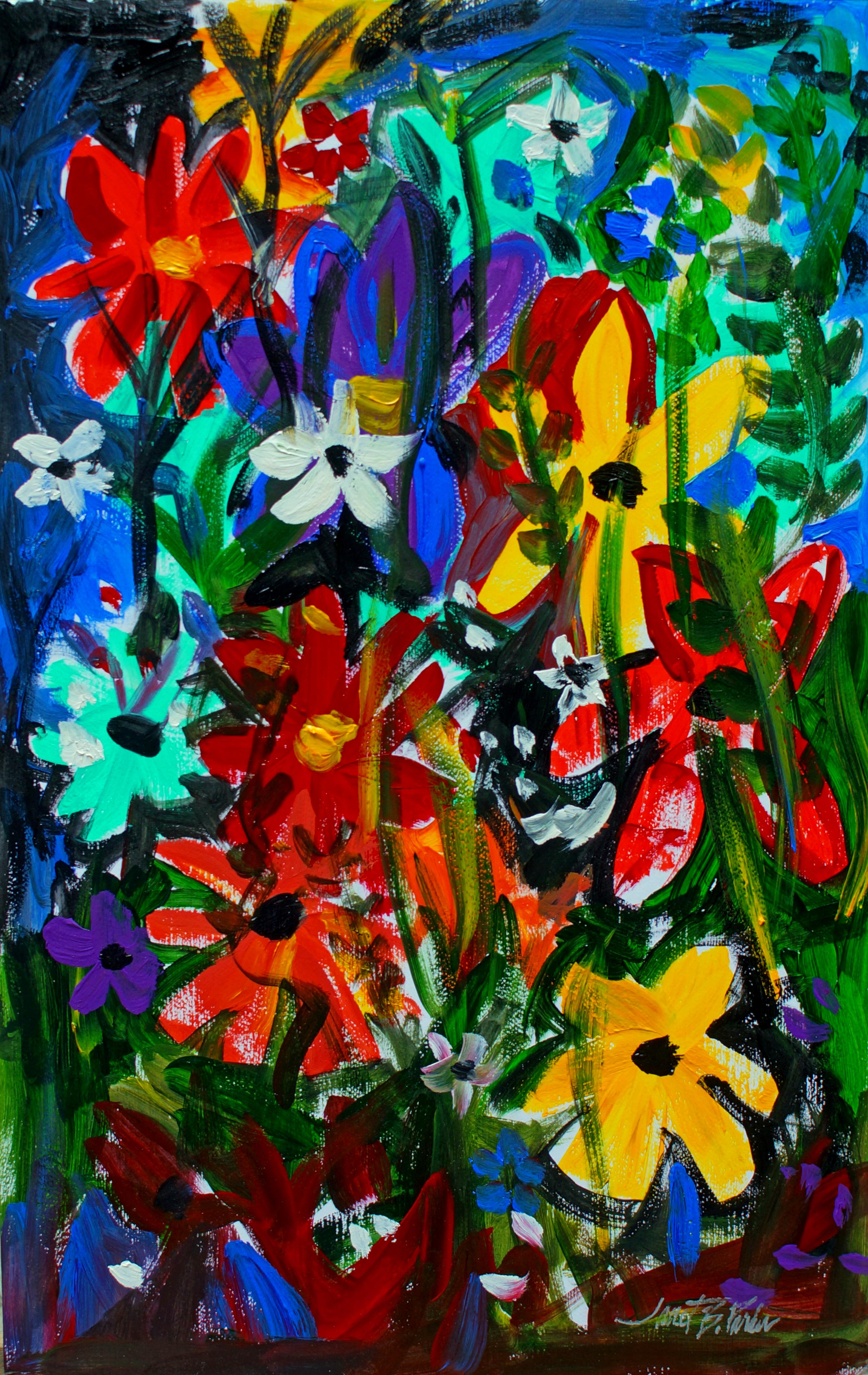 Flowers Gone Wild