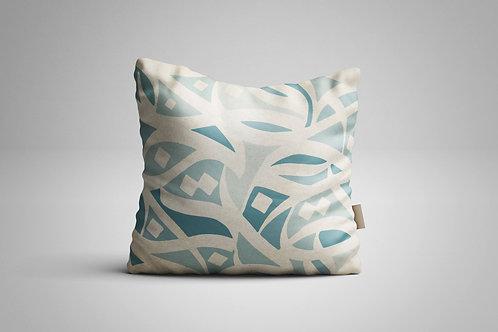 Soft Colors Arabic Calligraphy Cushion