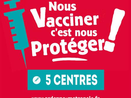 Campagne de vaccination #covid19