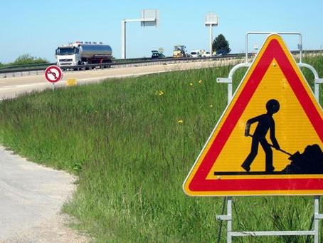 Travaux sur l'autoroute A34