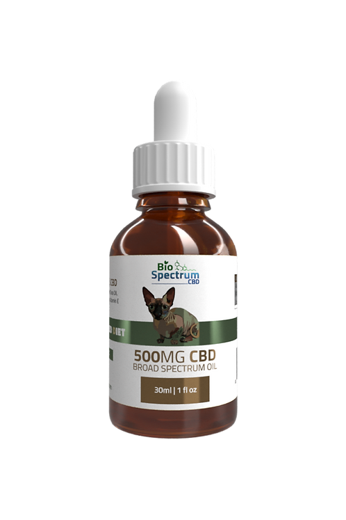 500mg Cat CBD Oil - Wholesale