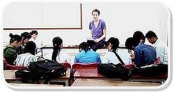 Maggie teaching