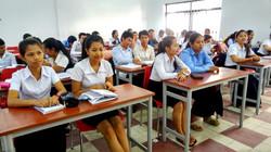 In class at NUM