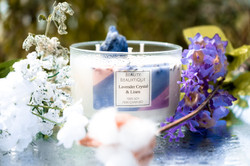 14 oz Lavender and Linen Candle