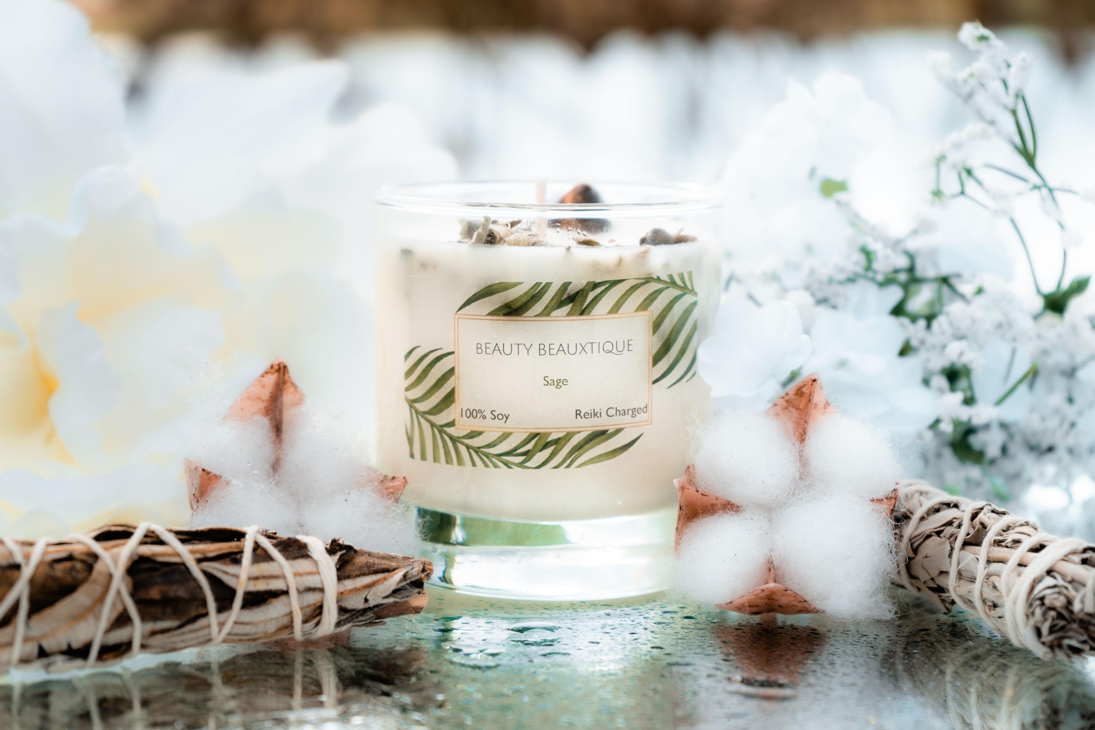 8 oz Sage Candle