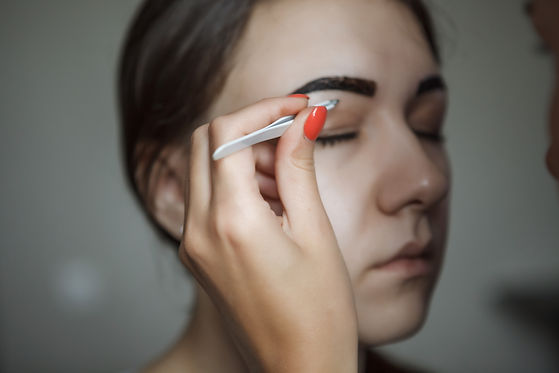 Brow Artist Styling And Plucking Woman's