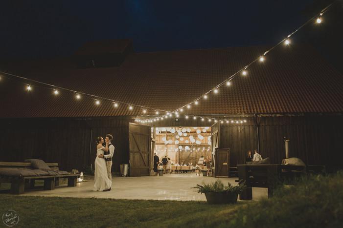 a barn that held a wedding