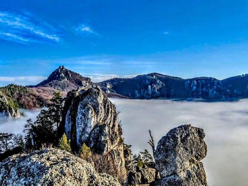 Súľovské skaly - čarovná nedeľná inverzia